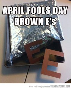 Going to do this with my daughter who's     birthday is on April Fool's so she can bring them to school.
