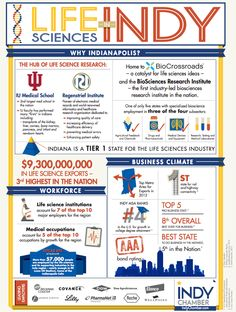 Why is #Indy a leader in life sciences? We're glad you asked! Check out this infographic to learn more.