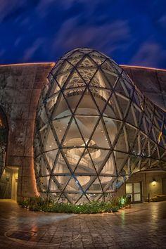 Salvador Dali Museum at Night, Florida
