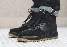 Nike Lunar Force 1 Sneakerboot Black Gum