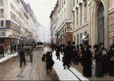 Jean Béraud - Winter in Paris