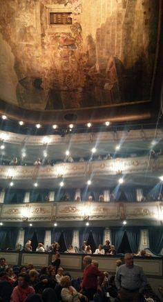 Interior del #Teatro #Cervantes en #Málaga #elviajemehizoami