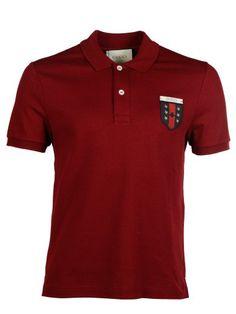GUCCI Gucci Logo Patch Polo Shirt. #gucci #cloth #topwear