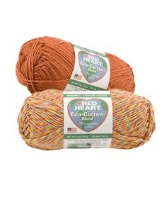 Eco-Cotton Blend Yarn | Red Heart