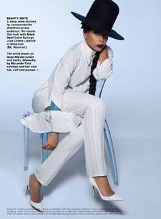 Erykah Badu for ESSENCE Magazine May 2014. Photo: Greg Lotus