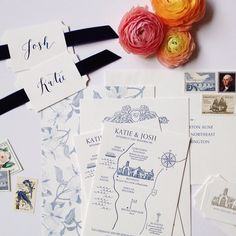 this wedding stationery project is especially near and dear to me because this client the