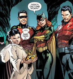 Robin Rises Alpha #1 << so glad the kids are on good terms (even Jay)