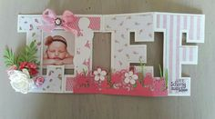 Baby Cards, Stencil, Alphabet, Mixed Media, Letters, Frame, Decor, Picture Frame, Decoration
