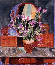 Henri Matisse Vase of Irises 1912