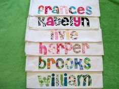 Slumber party idea - personalized pillowcases for favors by tamera