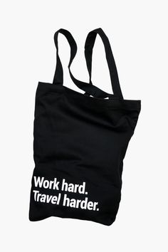 Travel Tote Bag With A Pocket & Lanyard Travel Qoutes, Best Travel Quotes, Best Tote Bags, Cute Purses, Backpack Purse, Travel Gifts, Reusable Tote Bags, Pocket, Tuesday