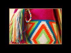 a group of bag images Wayuu Mochila Bags. Crochet Chart, Knit Crochet, Crochet Patterns, Tapestry Bag, Tapestry Crochet, Mochila Crochet, Crochet Cactus, Crochet Purses, Crochet Videos
