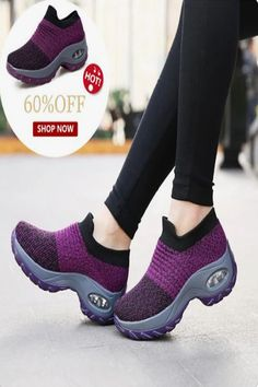 Women's Multi-Color Slip-On Cushion Sneakers – Shoes
