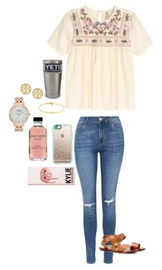 """Bad set "" by avaodom ❤ liked on Polyvore featuring Topshop, Polo Ralph Lauren, Casetify, Bobbi Brown Cosmetics, Tiffany & Co., Tory Burch and Kate Spade"