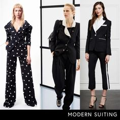 - Classic pantsuits are boring no more thanks to re-imagined fits from feminine to relaxed.