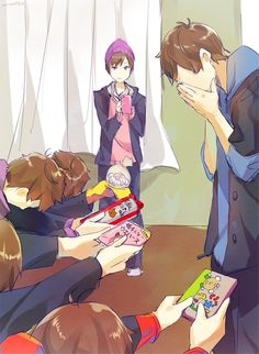 Happy Valentines Karamatsu ^q^ How To Draw Sans, Osomatsu San Doujinshi, Sans Cute, Ichimatsu, Light Novel, Kara, Anime Guys, Memes, Cute Pictures