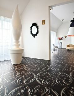 Gorgeous floor design idea