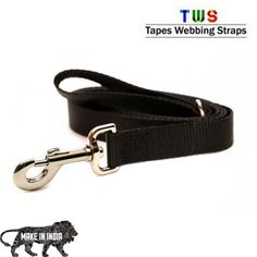 ‪#‎MakeinINDIA‬ ‪#‎GoradiaIndustries‬ ‪#‎Tapeswebbingstraps‬ A leash (also called a lead, lead line or tether) is a rope or similar material attached to the neck or head of an animal for restraint or control. On the animal, some leashes clip or tie to a collar, harness, or halter, while others go directly around the animal's neck. For more details click on the below link or call us on +9833884973/9323558399 http://tapeswebbingstraps.in/product-category/dog-leash/