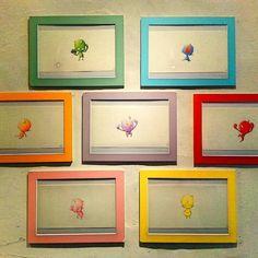 本日も在廊してます 残すところ後2日 本日は曇り空ですが小鬼が七色の光を放ってくれてます 皆さんもぜひ小鬼たちの成長を見に来てくださいね #art #picturebook #japan #illust #colorpencil #絵本 #イラスト #アート #色鉛筆 #イケダコウスケ #個展 by ikeda_kosuke