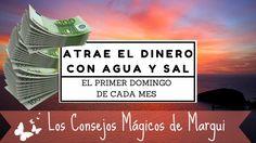 Atraer el #Dinero con Agua y Sal es un Consejo Mágico que se hace el primer Domingo de cada mes!!!
