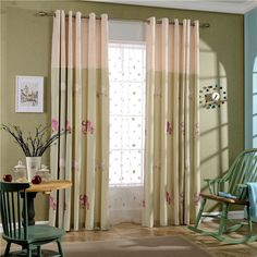 Hot sale windows curtain Jacquard embroidered volie sheer blackout curtains for living room the bedroom blinds