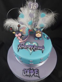 Disney Kingdom of Hearts Birthday Cake