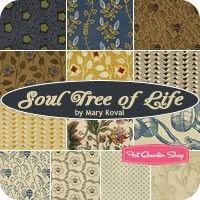 Soul Tree of Life Fat Quarter Bundle<BR>Mary Koval for Windham Fabrics