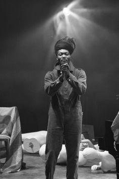 Benjamin Clementine live at Campo Pequeno, Lisboa, Portugal, March 2018.