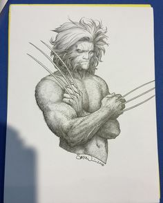 Wolverine by Steve McNiven Comic Book Artists, Comic Book Characters, Comic Artist, Comic Character, Comic Books Art, Character Design, Wolverine Art, Logan Wolverine, Steve Mcniven