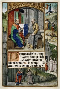 Flemish Illumination: Book of Hours, Use of Rome. Early 16th century