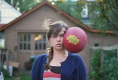 """Funny Photo Series Titled """"Stuff Being Thrown at My Head"""" - My Modern Metropolis"""