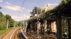 Băile Herculane (900)-Station train -Romania