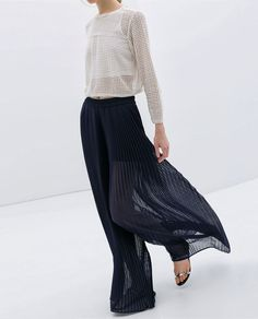 pantalon plisado