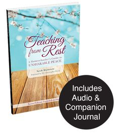 Dear homeschool mom, you will be unbelievably blessed by this book! Revised with 35% new content AND now in PRINT. Use code REST20 for 20% off on your pre-order (though July 24th).