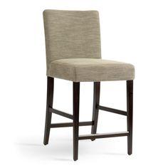 chaise haute de bar blanche trépied en bois style scandinave ... - Chaises Hautes De Bar