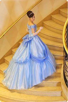 Cinderella (Tokyo Disney Fairy Tale Weddings site) #disneyweddings