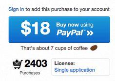 커피7잔의 가격밖에안함!