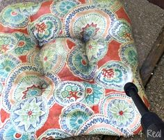 How To Clean Your Outdoor Furniture Cushions Cleaning