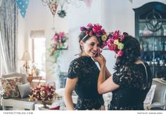 Our featured post today is a very special one. Toni Fawzy, the beautiful bride, happens to be part of The Pretty Blog family - she is our editor! This means that today we get to share a little piece of her story with all our readers.