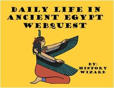 Students will gain basic knowledge about the ancient Egyptians by completing an…