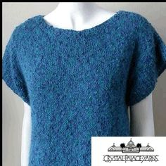 """""""Susan's Top"""" Knitted Ladies' Summer Top Pattern by Crystal Palace Yarns - FREE Knitting Pattern - Planet Purl Knit Or Crochet, Irish Crochet, Knitting Patterns, Free Knitting, Summer Knitting, Yarn Shop, Top Pattern, Knitting Projects, Crystal Palace"""