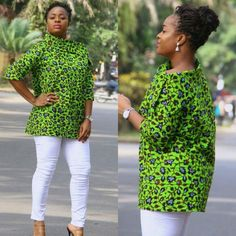 Latest Ankara Styles Check out 25 Trending And Stylish Ankara styles For Beautiful Ladies Latest African Fashion Dresses, African Dresses For Women, African Print Dresses, African Print Fashion, Africa Fashion, African Attire, Latest Ankara Styles, African Blouses, African Tops