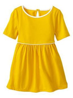 Piped dress-i want this for me and my girls