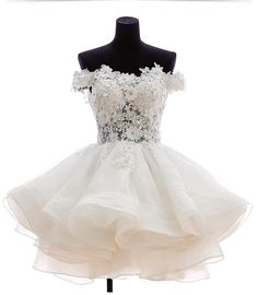 Homecoming Dresses, Homecoming Dress for Junior, Lace Appliques flower Party Dress, Pretty Mini Dress for Homecoming H05