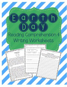 This is a reading comprehension passage about Earth Day. It includes the history of Earth Day and some common tips about celebrating Earth Day and conserving the planet. The passage is accompanied by an Earth Day comprehension worksheet (multiple choice and short answer) and an Earth Day writing prompt.Great for celebrating Earth Day with your elementary students!Can be used as classwork or homework.If you enjoyed this Earth Day product, be sure to check out other items available in my…