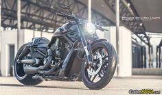 Harley Davidson V-Rod VRSCD Night Rod customized. See more on CustomMANIA.com
