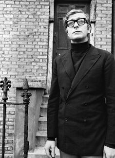 The Rollneck and DB Crowd. Michael Caine.