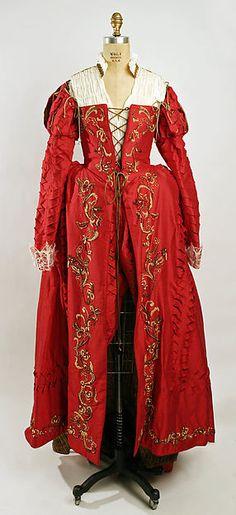 Nicolao Atelier (Italian). Fancy dress costume, 1995. The Metropolitan Museum of Art, New York. Gift of Nicolao Atelier, Costumi D'Arte, 1996 (1996.137a–i) #halloween #costume