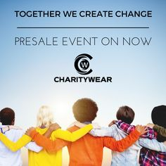 Get 10% off our pre-sale event.  Bamboo organic cotton for you and donation for charities... a win-win. www.mycharitywear.com