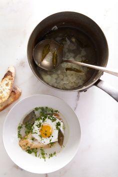 save your life garlic soup: david tanis via hungry ghost